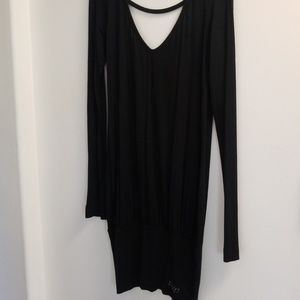 Cute Miss Sixty long sleeved, low back, LBD
